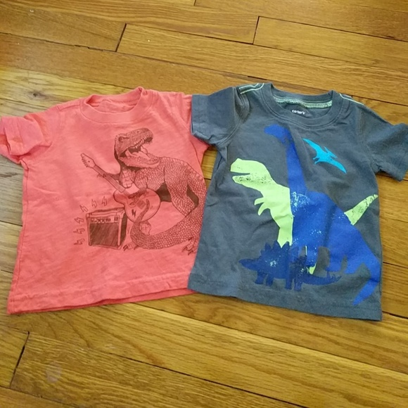 14025bb18 Carter's Shirts & Tops | 3 For 10bundle Of 2 Carters Boys Tshirts ...